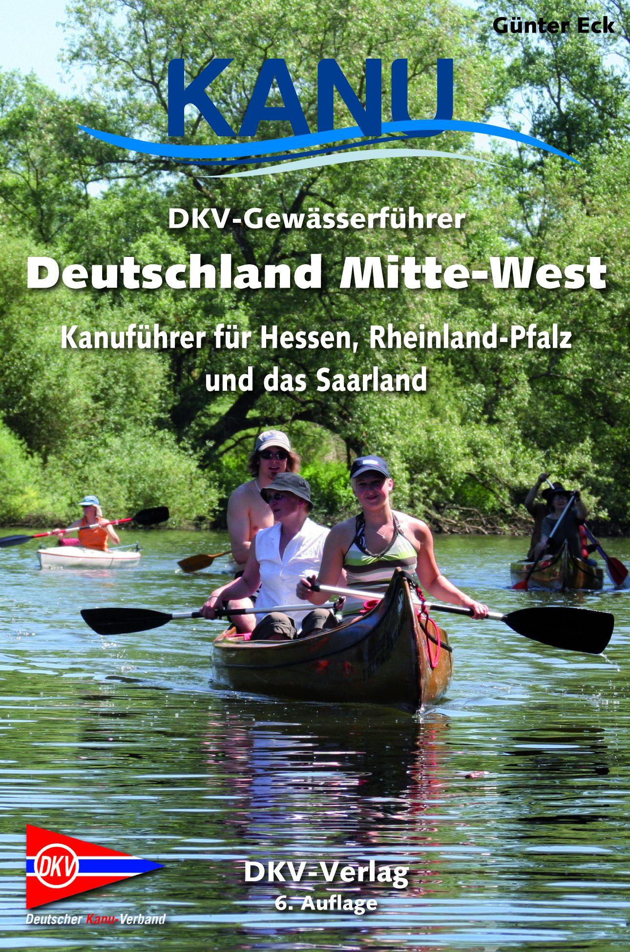 DKV-Gewässerführer MItte West