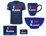 Set I LOVE KANU