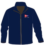 DKV-FLEECE JACKE NAVY